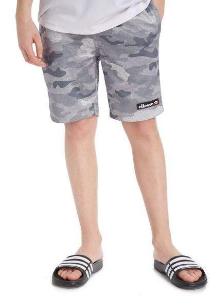 Vianni Camo Fleece Shorts Junior