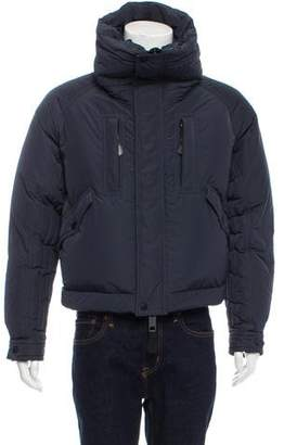Burberry Cropped Down Puffer Jacket