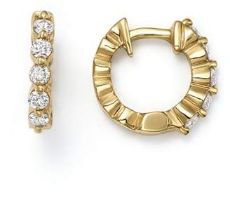 KC Designs 14K Yellow Gold Diamond Mini Huggie Hoop Earrings