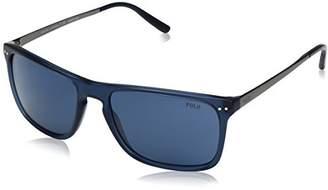 Polo Ralph Lauren Men's Acetate Man Rectangular Sunglasses
