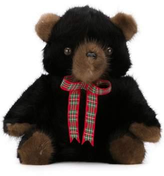Liska mink fur teddy bear