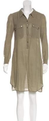 Etoile Isabel Marant Long Sleeve T-Shirt Dress