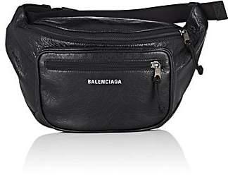 Balenciaga Men's Arena Leather Explorer Belt Bag - Black