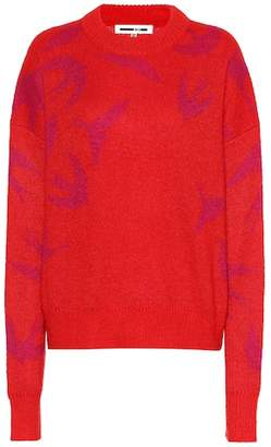 McQ Swallow mohair-blend sweater