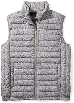 The Plus Project Men's Light Down Vest With Chest Pocket