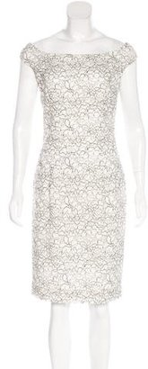 Christian Dior Lace Off-The-Shoulder Dress w/ Tags $995 thestylecure.com