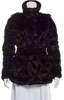 Burberry Quilted Velvet Jacket