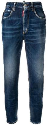 DSQUARED2 high rise slim jeans