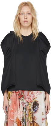 Comme des Garcons Black Sculpted Sleeve T-Shirt