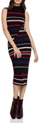 BCBGeneration Striped Midi Sweater Dress