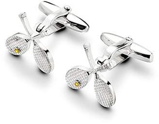 Aspinal of London Sterling Silver Tennis Racquet Cufflinks
