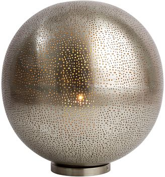 Casa Uno Iron Speck Ball Table Lamp