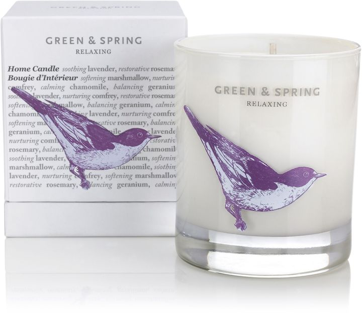 Green and spring Relaxing Home Candle 235g