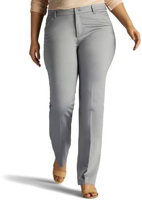 969dc663a9c at Kohl s · Lee Plus Size Flex Motion Straight-Leg Pants