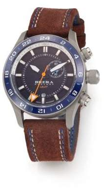 Brera Orologi Eterno GMT Stainless Steel Watch