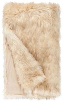 Donna Salyers' Fabulous Furs Donna Salyers Faux Fur Throw - Ivory Bear