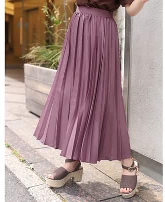Nice Claup (ナイス クラップ) - ワンアフターアナザー ナイスクラップ 幅広プリーツスカート