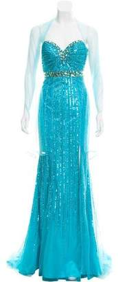 Jovani Sequin Evening Dress w/ Tags