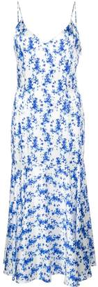 Caroline Constas printed slip dress