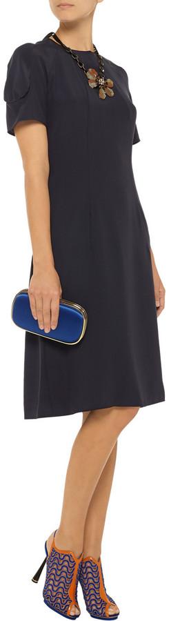 Marni Silk-crepe dress