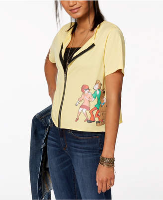 Scooby-Doo Love Tribe Juniors' Graphic-Print Top