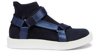 Brandblack 'Tabi' strap sock knit sandals
