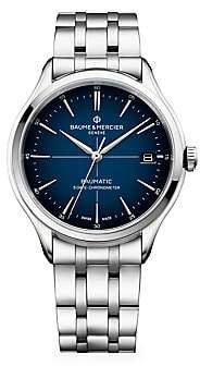 Baume & Mercier Women's Clifton Baumatic Stainless Steel Bracelet Watch
