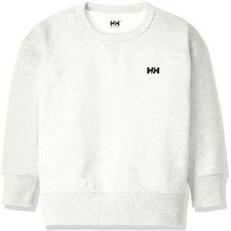 Helly Hansen (ヘリー ハンセン) - (ヘリーハンセン) HELLY HANSEN(ヘリーハンセン) ロングスリーブビッグクルー(キッズ) HOJ31792 [ジュニア] HOJ31792 ZI ミックスアイボリー 120