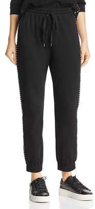 Honey Punch Studded Jogger Pants