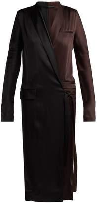 Haider Ackermann Kuiper wrap dress