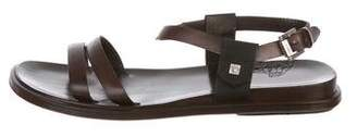 Gianni Versace Leather Strap Sandals