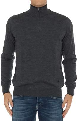 Fay Front Zip Sweater