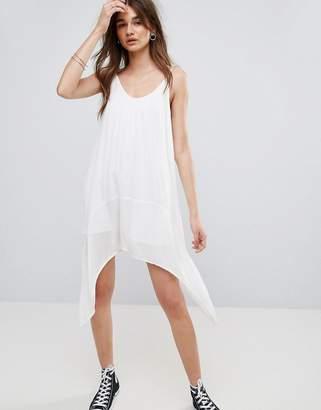 Noisy May Evelyn Waterfall Slip Dress