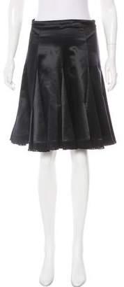 Emilio Pucci Wool-Blend Knee-Length Skirt