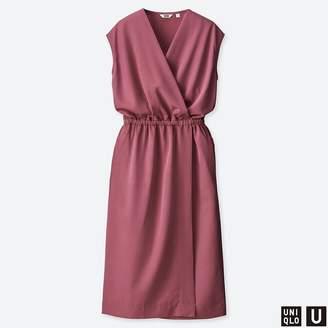 Uniqlo WOMEN U Wrap Sleeveless Dress