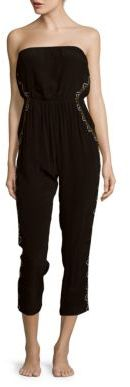 Pipeline Cropped Jumpsuit Coverup $145 thestylecure.com