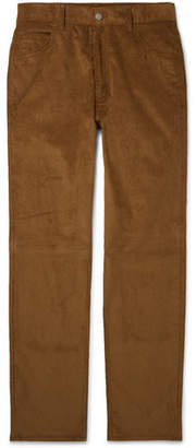 Maison Margiela Slim-fit Cotton-corduroy Trousers