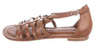 Bernardo Leather Multistrap Sandals