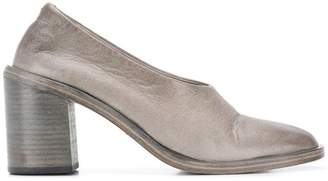 Marsèll distressed block heel pumps