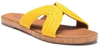 Splendid Suzette Flat Cork Woven Sandal
