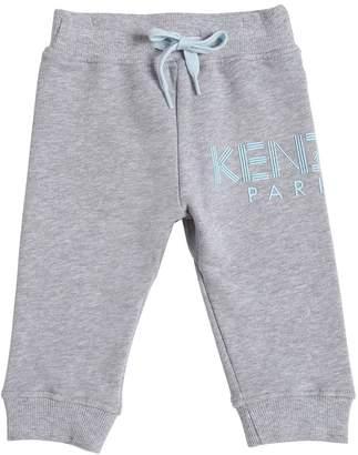 Kenzo Logo Printed Cotton Sweatpants