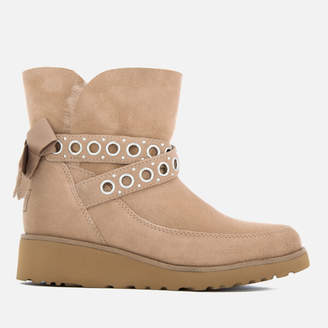 ugg madison eyelet short boot