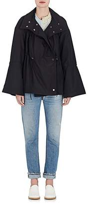 Teija Women's Tech-Twill Drawstring Raincoat
