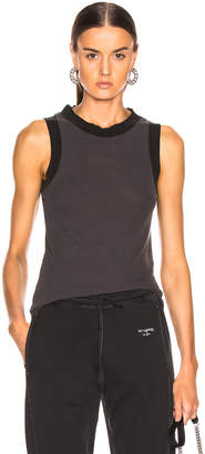 Acne Studios Erika Tank Top in Washed Black | FWRD