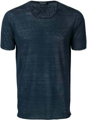 Roberto Collina sheer T-shirt