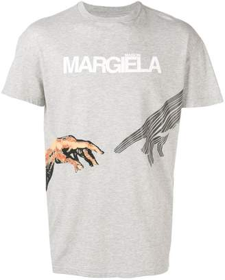 Maison Margiela graphic logo print T-shirt