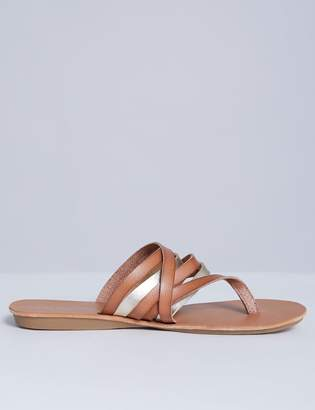 Multi-Strap Flip Flop Sandal