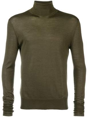 Neil Barrett roll-neck fitted jumper