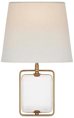 Visual Comfort & Co. Henri Crystal Sconce - Antiqued Brass