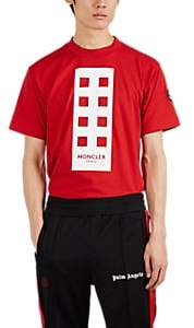 "Palm Angels 8 MONCLER Men's ""Im So High"" Cotton T-Shirt - Red"